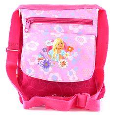 Barbie Kabelka přes rameno , růžová, s potiskem panenky