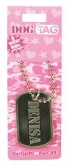 Angels at Heart Dog Tag jméno, Denisa, 021040