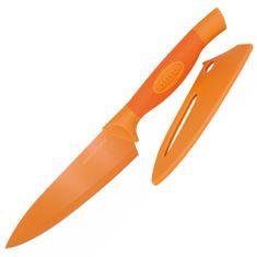 Stellar Kuchársky nôž Stellar, Colourtone, čepeľ nerezová, 15 cm, oranžový
