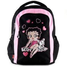 Betty Boop Iskolai hátizsák Betty Boop, fekete-rózsaszín