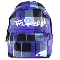 The Realm Plecniak , štvorcovaný, modrý