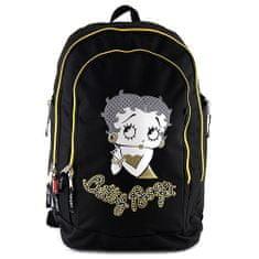 Betty Boop Školní batoh , černo-zlatý