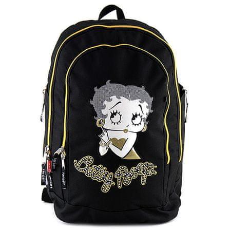 Betty Boop Plecak szkolny Betty Boop, czarny i złoty