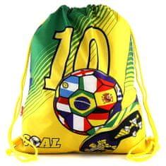 Goal Sportzsák , zöld-sárga