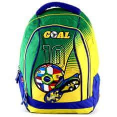 Goal Hátizsák Goal, zöld-sárga