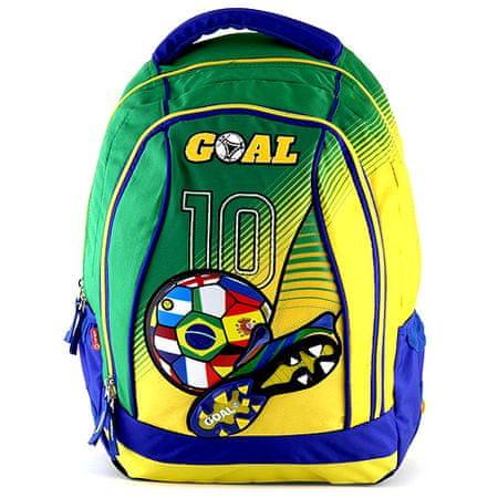 Goal Hátizsák , zöld-sárga