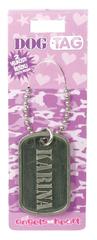Angels at Heart Dog Tag jméno, Karina, 021073