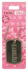 Angels at Heart Dog Tag jméno, Karolina, 021074