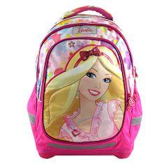 Barbie Školní batoh , barevný s motivem panenky