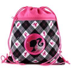 Barbie Športna torba , črni motiv silhuete