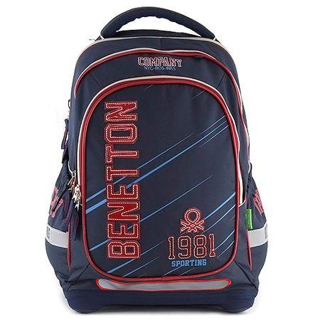 Benetton Iskolai hátizsák , kék
