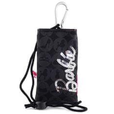 Barbie Pouzdro na mobil , černá se stříbrným nápisem