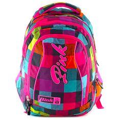 Pink Diákhátizsák 2az1-ben , Backpack Rainbow (2 In 1)