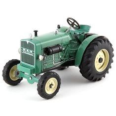 KOVAP Traktor Kovap, plechový, zelený