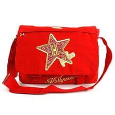 Hollywood Taška přes rameno Star, Taška přes rameno červená
