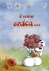 Diddl & Friends Blahopřání Diddl a jeho přátelé, Z celého srdca…
