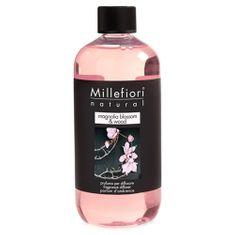 Millefiori Milano Náplň do difuzéru , Natural, 500 ml/Kvety magnólie a drevo