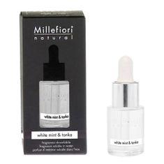 Millefiori Milano Aróma olej , Natural, 15 ml/Biela mäta a tonkové bôby