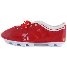 Goal Docelowy piórnik szkolny, Bramka, kolor czerwony