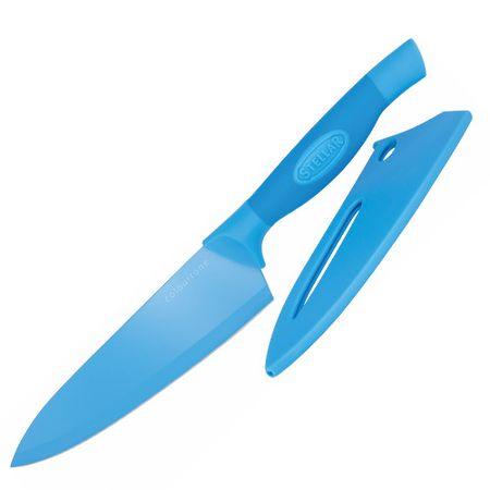 Stellar Csillag főző kés, Colourtone, rozsdamentes acél penge, 18 cm, kék