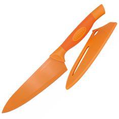 Stellar Kuchársky nôž Stellar, Colourtone, čepeľ nerezová, 18 cm, oranžový