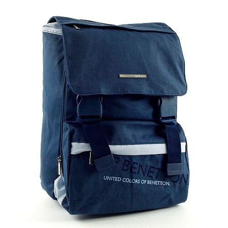 Benetton Iskolai hátizsák , csatos kék