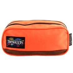 Smash Iskolai ceruzatok utántöltő nélkül, narancssárga, 2 zseb