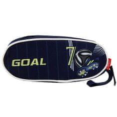 Goal Célzott iskolai ceruza tok, Cél, kék színű