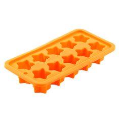 Smart Cook Pečící forma , silikonová oranžová hvězdy