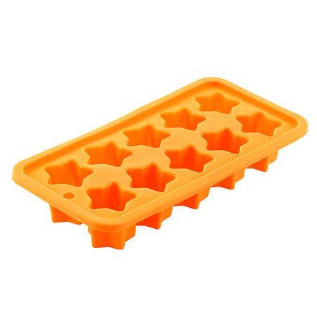 Smart Cook Obrazec za peko , silikonsko oranžne zvezde