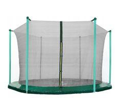 Aga Siatka do trampoliny 250 cm 8ft wewnętrzna na 6 słupków Black