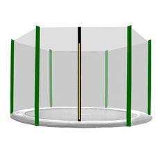 Aga védőháló 150 cm 6 oszlopos Black net/ Dark green