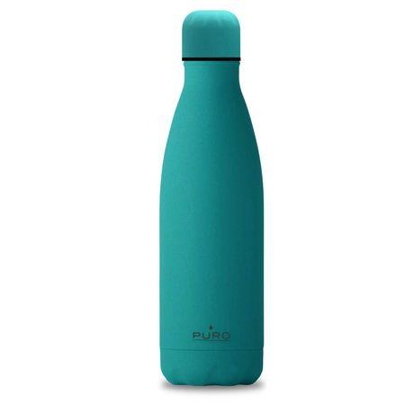 Puro Icon termo steklenica, nerjaveče jeklo, 500 ml, zelena