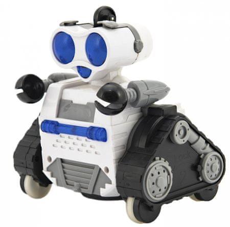 Teddies robot RC z daljinskim upravljanjem s kolesi, plastičen