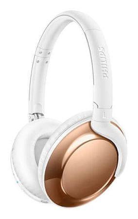 Philips SHB4805RG brezžične slušalke, rožnato zlate