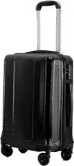 Leonardo walizka podróżna 33x23x55 cm, czarny