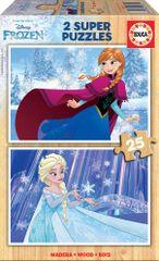 Educa Frozen sestavljanka, 2 x 25, 26 x 18 cm