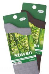 STEVEN Pánské ponožky BAMBUS 086