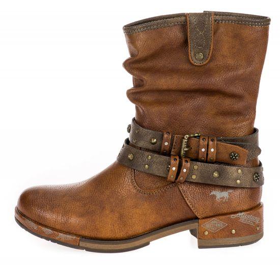 Mustang dámska členková obuv 1332503-1 36 hnedá