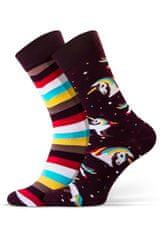 Sesto Senso Nepárové dámské ponožky Sesto Senso Casual Women
