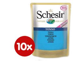 Schesir saszetki dla kota z tuńczykiem 10 x 100g