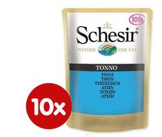 Schesir Kapsička SCHESIR tuniak 10 x 100g