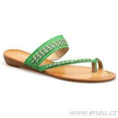 Gemini Dámské boty žabky 95AU374 - Ideal