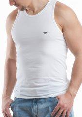 Emporio Armani Pánský nátělník Emporio Armani 110828 CC729 bílá