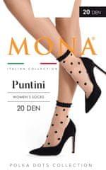 Mona Dámské ponožky Mona Puntini 20 den