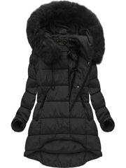 Amando Asymetrická zimná bunda X7670BIGX čierna
