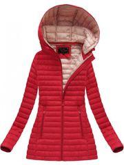 Amando Červená prechodná bunda 7218BIG