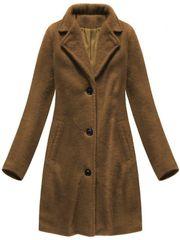 Amando Dámsky prechodný kabát 23086, hnedý