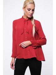 Amando Červená dámska košeľa MP26005