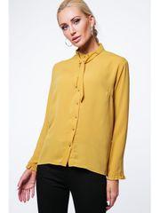Amando Žltá dámska košeľa MP26005